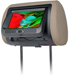 CLD 700 7 TFT LCD Headrest Monitor with Built in DVD Player