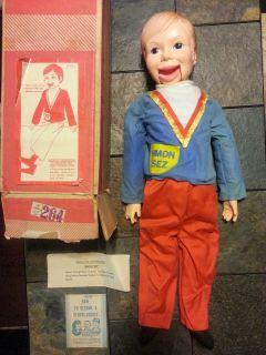 Horsman Simon SEZ Professional Ventriloquist Doll