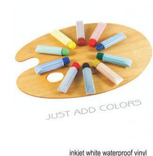 Inkjet Waterproof Matte White Vinyl D Paper