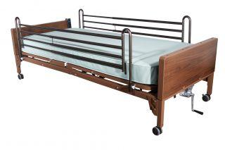 Drive 15001ABV Full Length Hospital Bed Side Rails