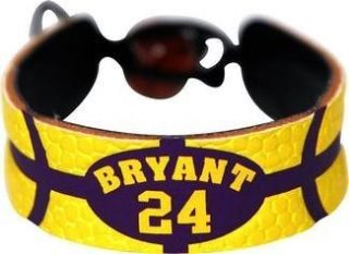 Kobe Bryant Team Color NBA Basketball Jersey Bracelet