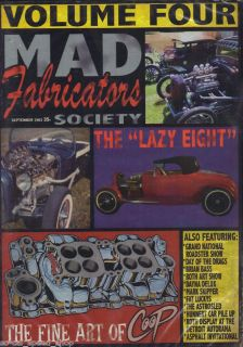 Mad Fabricators 4 Traditional Hot Rod DVD Pinup Coop Art Shows Deluxe