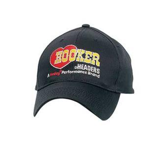 Hooker 10212HKR Ball Cap Cotton Hooker Headers Logo Black Adjustable