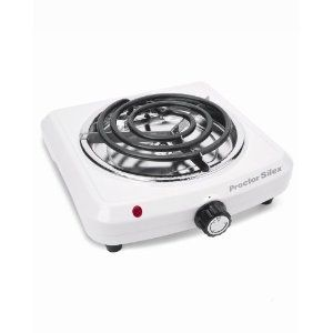 Electric Countertop Portable Single Burner Hot Plate