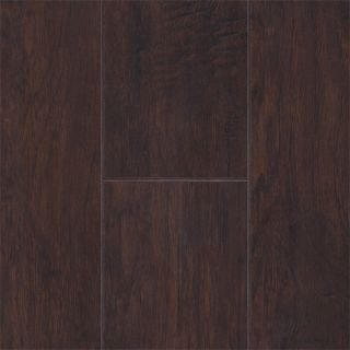 Scraped Hickory Mocha Laminate Hardwood Flooring Wood Floor