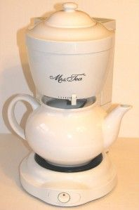 Mrs Tea by Mr Coffee Electric Hot Tea Maker Pot
