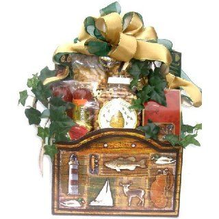 Nature Lovers Retreat Gourmet Gift Basket for the Outdoorsman