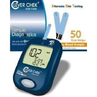 Clever Chek Auto Code Blood Glucose Monitor plus Clever