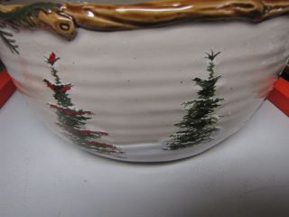 St Nicholas Square Snow Valley Pattern Very Largebowl