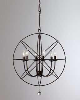 375 00 neimanmarcus wrought iron sphere chandelier $ 375 00 five rings