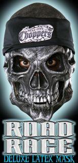 road rage biker skull deluxe vinyl mask metal has never been heavier