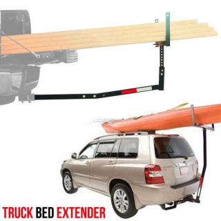Pickup 2 inch Hitch Receiver Truck Bed Extender for Long Heavy 750