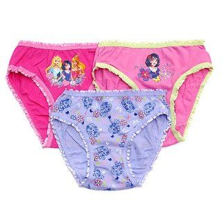 Toddler Girls Snow White Princess Underwear Panty 3 Pack
