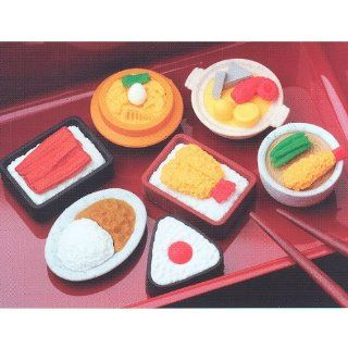 Iwako Japanese Puzzle Bento Food Eraser Set (Box of 60