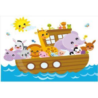 Noahs Ark Wall Decor Mural Decal Sticker