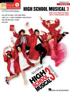 Pro Vocal 6 High School Musical 3 Men Women Songbook CD