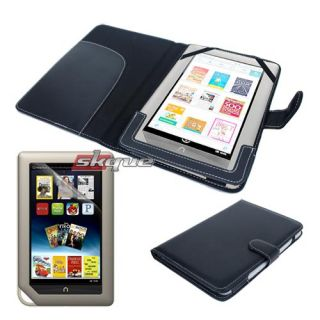 items for  nook tablet leather case lcd film premium
