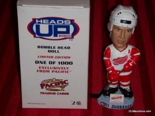 Shanahan ***LIMITED EDITION*** Detroit Red Wings NHL Hockey Bobblehead