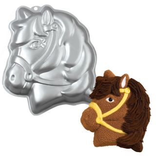 New Wilton Party Pony Cake Pan Cute Horse Farm Birthday