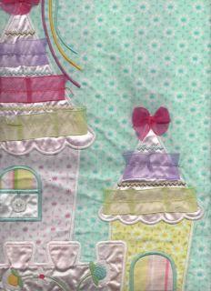 Fairy Princess Fairies Horse Castle Cot Toddler Quilt Cover Set
