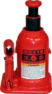 New Norco KYB 12 Ton Bottle Jack Low Height Hydraulic Axle 76512 Heavy