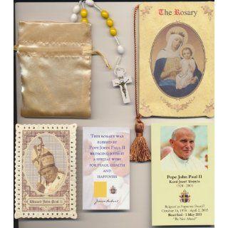 Rosary Blessed by Pope John Paul II on 8/17/2002 in Krakow