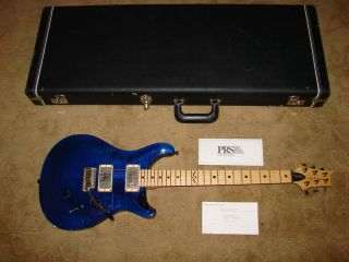PRS PAUL REED SMITH JOHNNY HILAND MODEL ELECTRIC FLAME TOP GUITAR USA