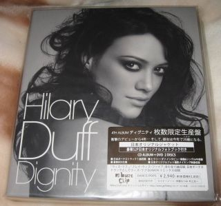 Hilary Duff Dignity Japan Limited CD DVD SEALED 1