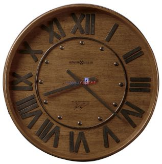 Howard Miller Wine Barrel Wall Clock 625 453 625453 30 Off