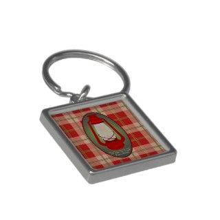 Psalms 119105 Red Plaid Bible Verse Keychain