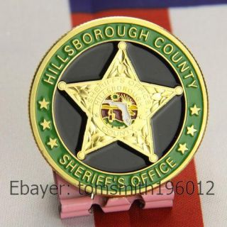 Hillsborough County Sheriffs Office Police Challenge Coin 384