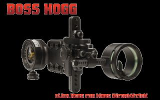 Spot Hogg Boss Hogg Single Pin Bow Sight Custom Order to Your Specs