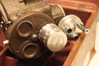 Bell Howell Filmo 16mm 70 Da Camera Lytar Lens Case