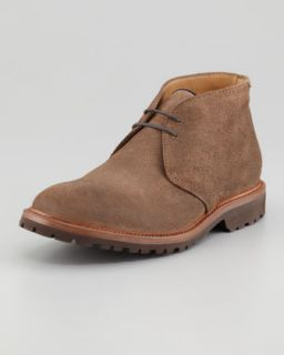 M04SC Brunello Cucinelli Aged Leather Chukka