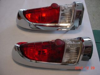 1955 DESOTO R L TAIL LIGHT ASSEMBLIES EARLY 392 HEMI EXTREMELY NICE