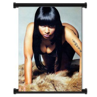 Nicki Minaj Rapper Sexy Fabric Wall Scroll Poster (16x22