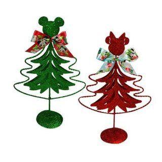 Mickey & Minnie 8 Metal Christmas Tree Case Pack 48