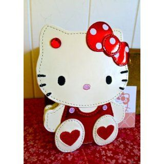 Hello Kitty Red White Classic Mirror with Lid Everything