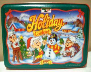 Keebler Holiday Cookies Collectible Christmas Tin