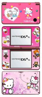 Hello Kitty Vinyl Skin Sticker for Nintendo DSi XL