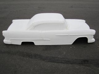 1955 Chevrolet Pedal Car Hot Rod Stroller 1 4 Scale Fiberglass Body