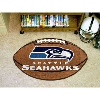 Seattle Seahawks Football Rug 22x35