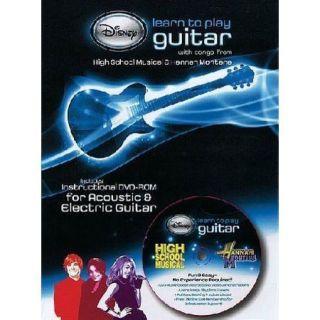 Play Guitar Songs from High School Musical Hannah Montana DVD