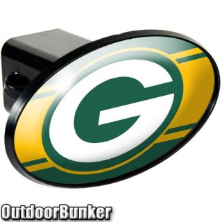 Official Green Bay Packers Trailer Hitch Cover Truck