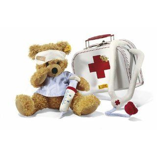 Pretend Play Teddy Bear Little Doctor Plush Toy Medical