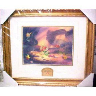 Disney Galleries 10th Anniversary Little Mermaid Framed