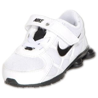 5b1d5913422a Nike Shox Turbo 12 Toddler Shoes White Black Grey on PopScreen