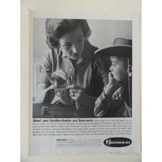Nationwide Insurance. Vintage 60s full page print ad