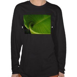 Green Leaf Swirl Shirt