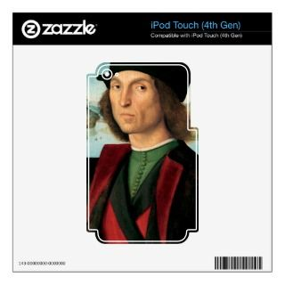 ritratto di uomo by Raffaello Sanzio da Urbino iPod Touch 4G Decal